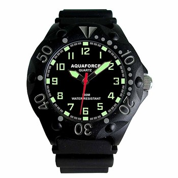 Black 200 Meter Dive Watch