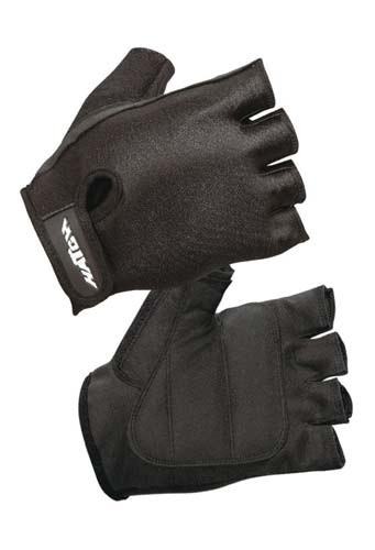 Hatch Lycra Clarino Black Cycling Glove - PC290