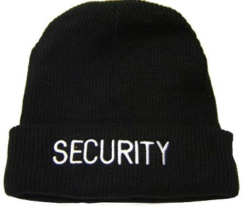 Fleece Lined Security Winter Hat