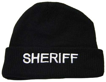 Fleece Lined Sheriff Winter Hat