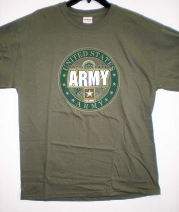 United States Army T-Shirt by JB