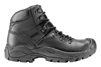 Keen 1007006 Detroit Mid Soft Toe Black Work Boot