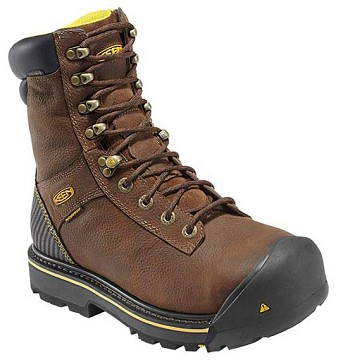 Keen 1008212 Wenatchee Insulated Steel Toe Brown Work Boot