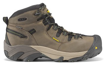 Keen Detroit Mid Steel Toe Work Boot - U400-38 Bronze