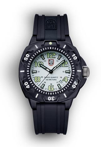 Luminox 0207.SL Sentry Wrist Watch - White and Black