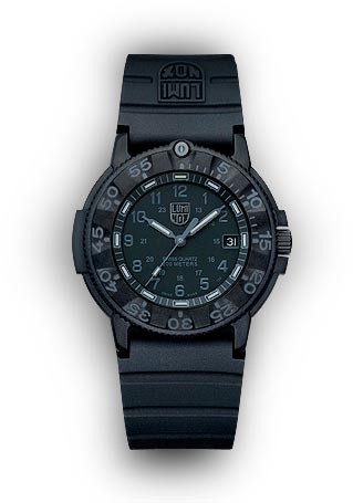 Luminox 3001.BO Original Navy SEAL Wrist Watch - All Black