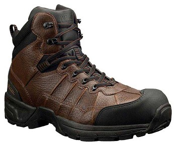Magnum Excursion Brown 6-inch Waterproof Composite Toe Work Boots - 5388