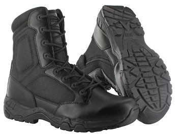 Magnum Black Side Zip Waterproof 8.0 Viper Pro Tactical Boot-5474