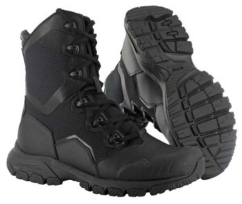 Magnum 8.0 Mach 1 Black Side Zip Tactical Boot-5491
