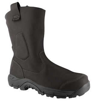 Magnum Black Precision UltraLite Composite Toe Waterproof Wellington Work Boot-5533