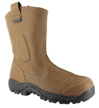 Magnum Brown Precision UltraLite Composite Toe Waterproof Wellington Work Boot-5532