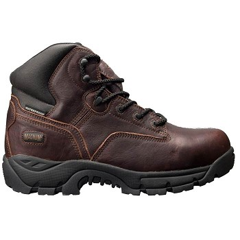 Magnum Precison Ultra Lite II Waterproof Composite Toe Work Boot - Dark Chocolate