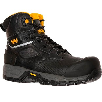 Magnum Halifax 6-inch Composite Toe Waterproof Work Boot - Black