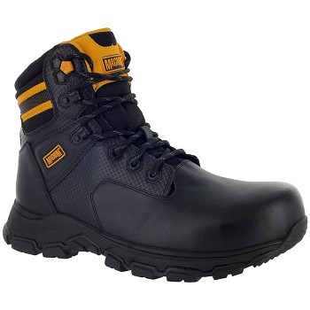 Magnum Precision III 6-inch Composite Toe Waterproof Work Boot - Black