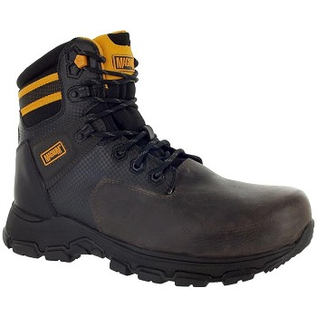 Magnum Precision III 6-inch Composite Toe Waterproof Work Boot - Coffee