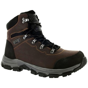 Magnum Austin 6.0 Steel Toe Waterproof Work Boot - Coffee