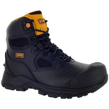 Magnum Chicago 6-inch Composite Toe Waterproof Work Boot - Black