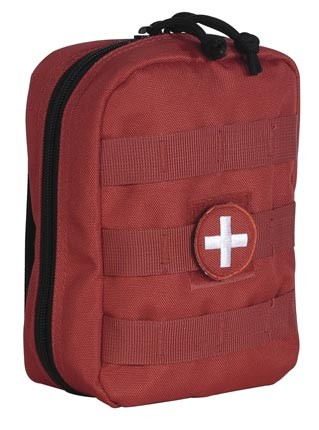 Red Medical Series EMT Pouch