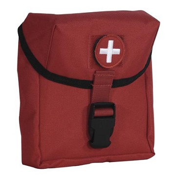 Red Medical Series Marine Style EMT Pouch