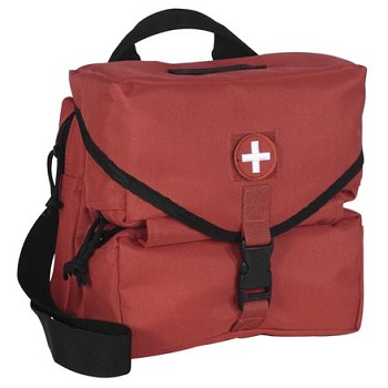 Deluxe Red Medical Series Supply Bag