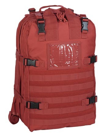 Deluxe Professional Special Ops Red Medical Bag
