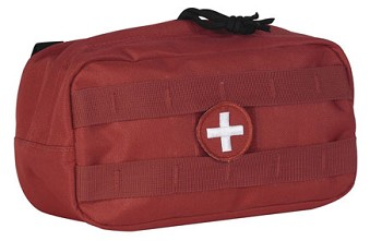 Red Medical Series Utility Pouch