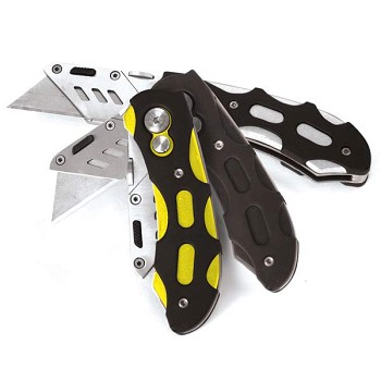 Lockblade Folding Utility Knife