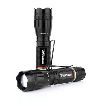 Pocket Chameleon Multi-Color Tactical Flashlight