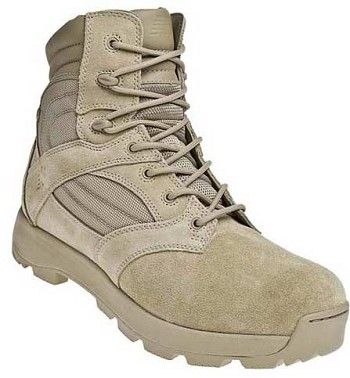 New Balance TAB Desert Tan 6-inch Zip Tactical Athletic Boot - 962MTN