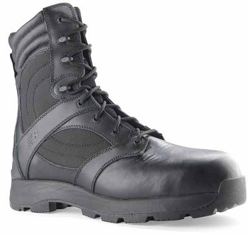 New Balance TAB Black 8-inch Zip Safety Toe Tactical Athletic Boot - 981MBK