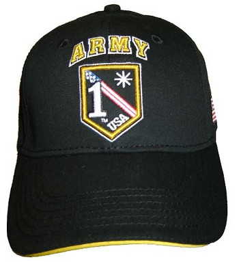 1 Asterisk United States Army Baseball Cap