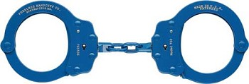 Peerless Handcuff - Blue Plated Finish - 750N