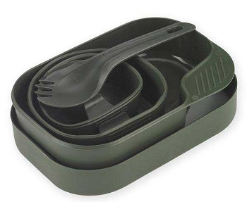 Wildo Olive Drab Camp-A-Box Camp Cookware Kit