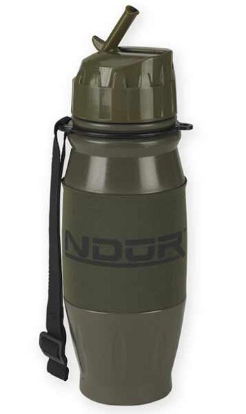 NDuR 28 oz. Flip Top Water Filtration Water Bottle - Olive Drab