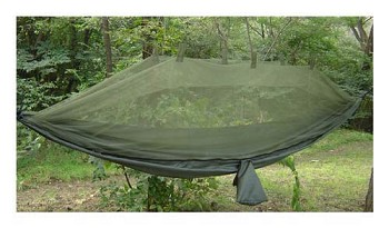 Snugpak Military Style Jungle Hammock with Mosquito Net