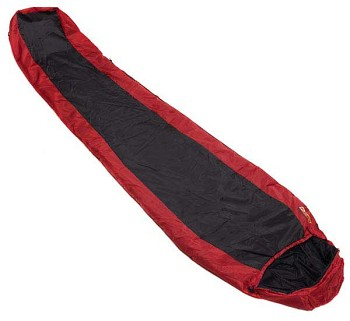 Snugpak Red and Black Travelpak 1 Sleeping Bag