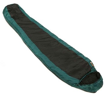 Snugpak Green and Black Travelpak 3 Sleeping Bag