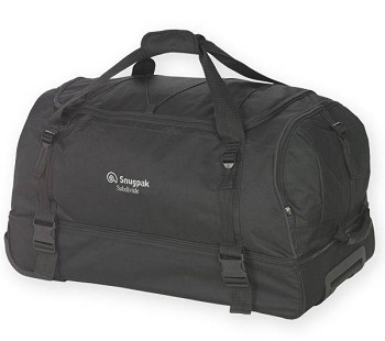 Snugpak Subdivide Black Roller Travel Bag