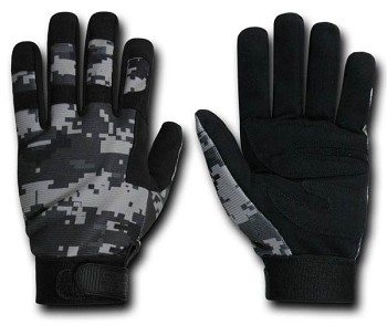 Rapid Dominance T09 Urban Digital Camo Tactical Glove