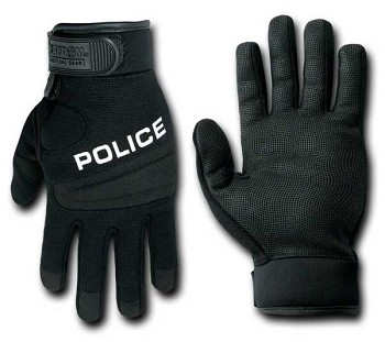 Rapid Dominance T29 Digital Leather Police Tactical Glove