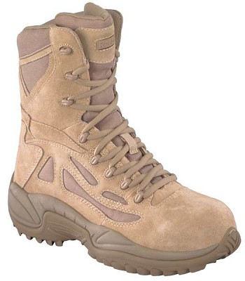 Reebok Rapid Response 8 inch Desert Safety Toe Military Boots- RB8893