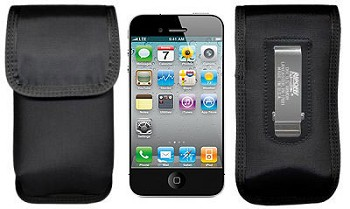 Rip-Offs Black Nylon iPhone 5 Cell Phone Pouch