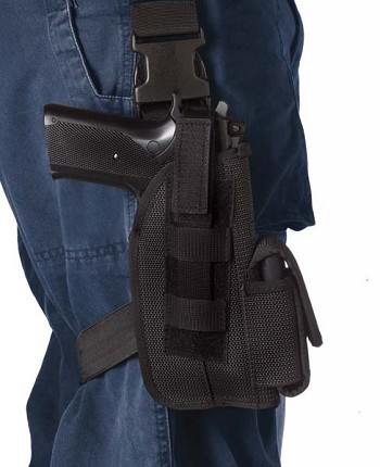 Basic Issue 5 inch Black Tactical Gun Holster