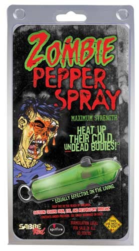 Sabre Zombie Self Defense Pepper Spray