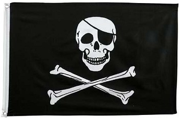 Jolly Roger Flag - 2 x 3