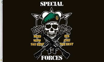 Special Forces Flag - 3 x 5