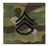 Multicam Army Staff Sergeant E6 Insignia Patch