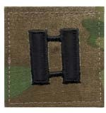 Multicam Military Captain O3 Insignia Patch