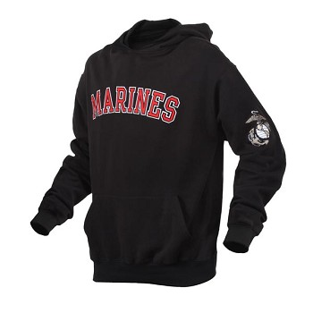 United States Marines Logo Pullover Hoodie