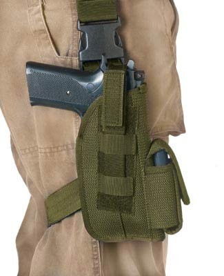 Basic Issue 5 inch Olive Drab Tactical Gun Holster
